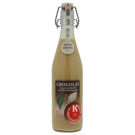 Délice Chocolat Kirsch de Fougerolles 18% 50cl