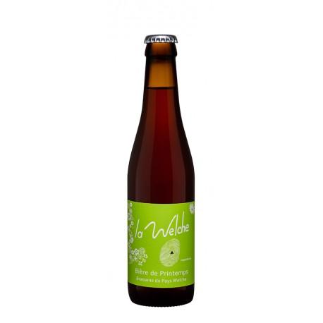 """Bière de Printemps """"LA WELCHE"""" - 6% vol - 33cl"""