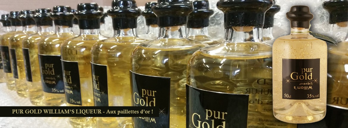 Pur Gold William's Liqueur